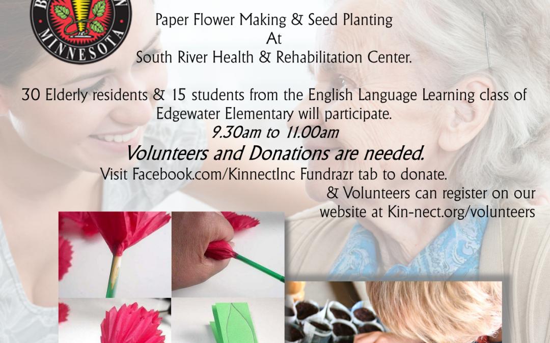 Paper Flowers & Seed Planting Event